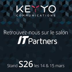 Keyyo présent sur le salon IT Partners